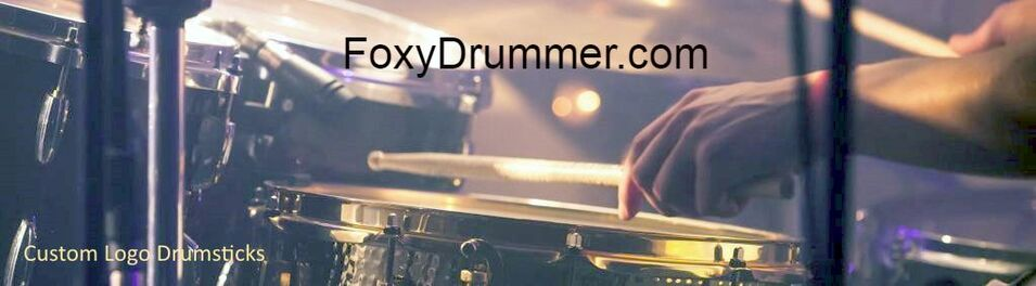 FOXY DRUMMER: CUSTOM IMPRINTED DRUMSTICKS
